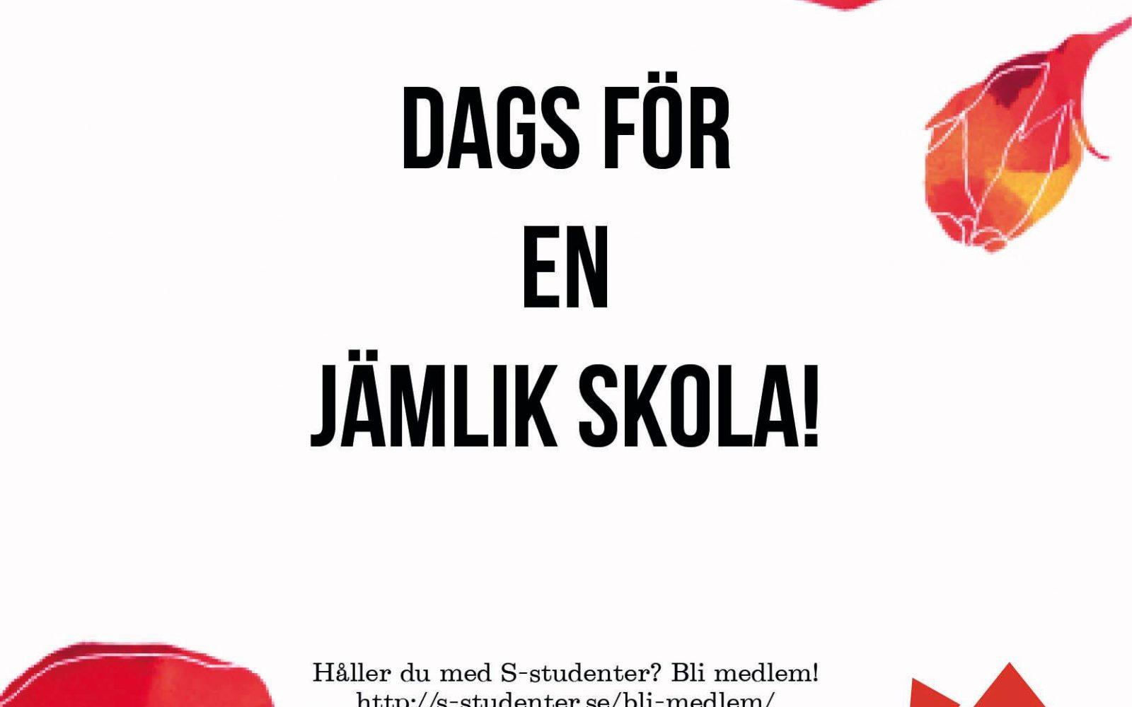 Dessa utbildningsreformer hoppas S-studenter att Löfven presenterar i Almedalen