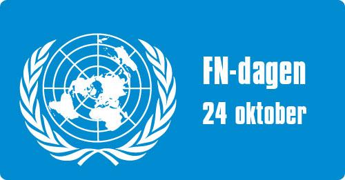 S-studenter uppmärksammar FN-dagen!