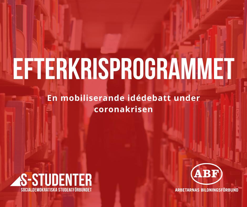 Bidra till S-studenters efterkrisprogram!